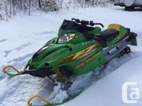 2003 Arctic cat F7 mint shape 6700 miles . Both