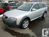 Comments THIS AUDI ALLROAD IS A B.C CAR FROM NEW 147000