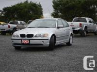 Make BMW Model 320i Year 2003 Colour Silver kms 101000