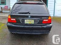 Make BMW Model 3 Series Year 2003 Colour Black kms