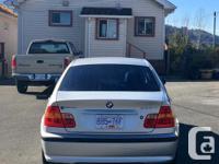 Make BMW Model 325 Year 2003 Colour Silver kms 171000