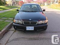 Make BMW Model 330 Year 2003 Colour Black kms 152000