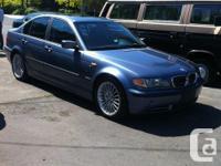 Make BMW Model 330 Year 2003 Colour Blue Trans