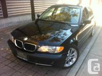 2003 BMW 330Xi - Only 171KM Black on tan, 6 speed,