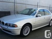 Very Nice BMW 540i with a reasonable price A well