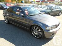 2003 bmw m3 coupe 2dr v6 3.2L drivelogic automatic and