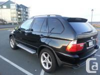 Make BMW Model X5 Year 2003 Colour black kms 203900