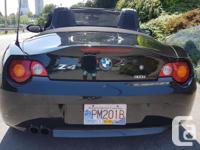 Make BMW Model Z4 Year 2003 Colour black kms 117000