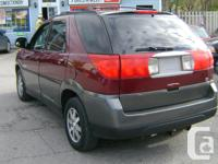 Make Buick Model Rendezvous Year 2003 Colour red kms