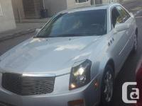 Make Cadillac Model CTS Year 2003 Colour silver kms
