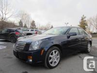 Navigation, Top of the line, Low Km  2003 Cadillac CTS
