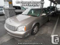 2003 Cadillac DeVille Sedan - $3,990