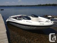 Runs Excellent !! This 240 HP Mercury Engine has a