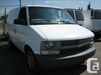 2003 Chevrolet Astro Cargo Van 2WD - $5,995