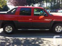 Make Chevrolet Model Avalanche Colour Red Trans