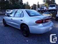 Make Chevrolet Model Cavalier Year 2003 Colour silver