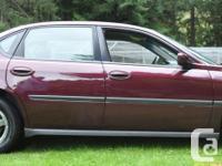 Make Chevrolet Model Impala Colour Burgundy kms 209000