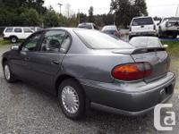 Make Chevrolet Model Malibu Year 2003 Colour grey kms