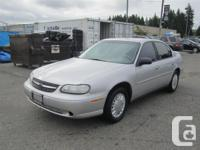 This 2003 Malibu is a great vehicle for anyone looking