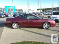 Make Chevrolet Model Monte Carlo Year 2003 Colour RED