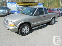 2003 Chevrolet s10 (gmc Sonoma) 4x4 auto 3dr 4.3l power