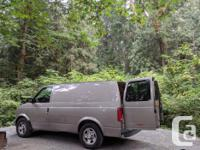 2003 Chevy Astro AWD Cargo van/ Campervan conversion