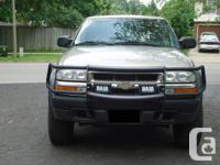 2003 Chevy Blazer ZR2 Offroad package  - new tires  -