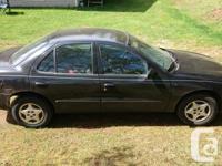 Make Chevrolet Model Cavalier Year 2003 Colour black