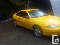 Make Chevrolet Model Cavalier Year 2003 Colour yellow