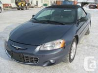 2003 Chrysler Sebring LXI Start think about summer now