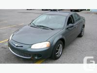 2003 Chrysler Sebring With 136000 km , Clean Vehicle ,