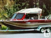 2003 Custom-made Weld 21 Ft. River Jet Watercraft. In