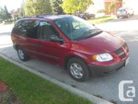 3.3 liter, V6,Inferno Red, No Rust, Well maintained via