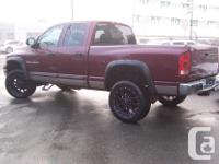 Make Dodge Model Ram 2500 Year 2003 Colour Red kms