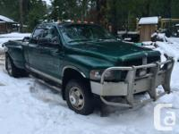 Make Dodge Model Ram 3500 Year 2003 Colour Green kms