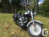 Make Harley Davidson Model Fatboy Year 2003 kms 31000