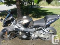 Make Honda Year 2003 kms 38700 CBR 954 RR for sale.