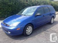 2003 Ford Focus ZTW Wagon ... 148,000 kms, 2.0 L,