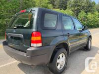2003 Ford Escape XLS -V6 Engine -4-spd automatic w/OD