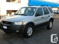 Make Ford Model Escape Year 2003 Colour Silver kms