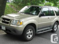 2003 Ford Explorer 2-Dr.  Sport XLT, 4 x4,  Silver