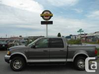 2003 FORD F150 SUPERCREW LARIAT ONLY 121,000 KMS HARD