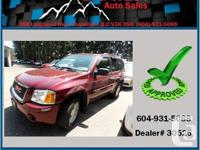 This 2003 GMC Envoy 4WD just was available in ready to