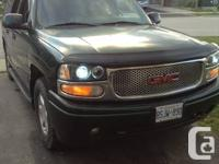 Hi, I'm selling my used GMC Yukon, Denali XL edition as