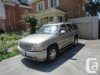 Owen Sound, ON 2003 GMC Yukon With a strong engine,