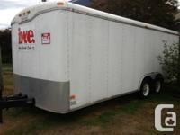 FORSALE!  2003 Haulmark 20 foot trailer Tires are 1