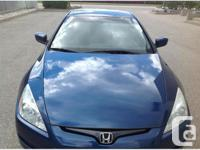 Mississauga, ON. 2003 Honda Accord. The reputable and