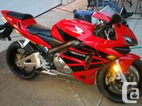 2003 Honda CBR 600rr for sale. In Excellent condition