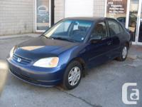 2003 HONDA CIVIC ``CERT AND ETESTED`` 4DR AUTO  JUST
