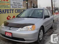 2003 HONDA CIVIC DX odometer: 188000 Automatic